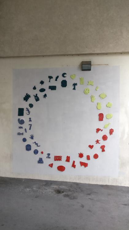 Fresque Oeuvre ensemble #3 13