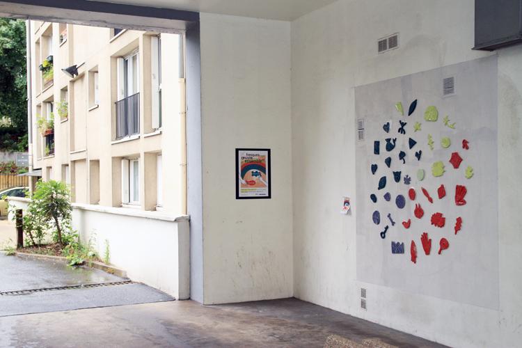 Fresque Oeuvre ensemble #3 8