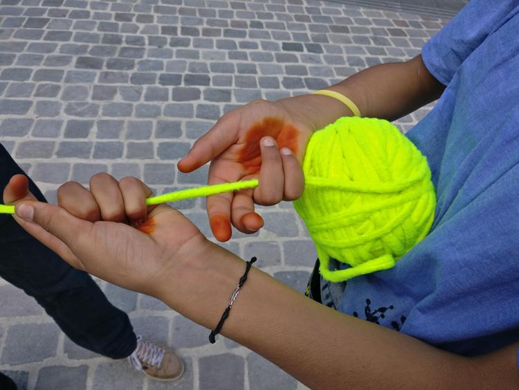 Le fil jaune 4