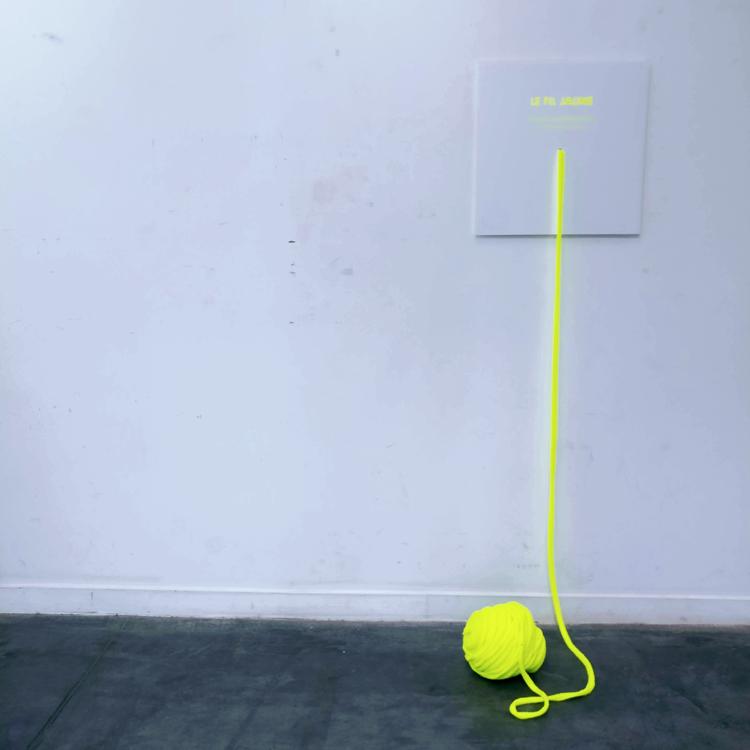 Le fil jaune 22