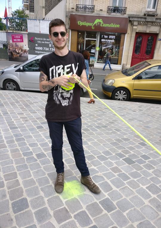 Le fil jaune 17