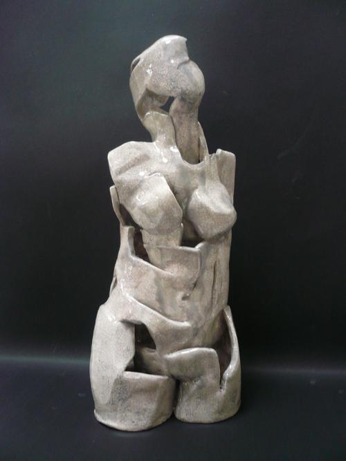 Les fêlés de terre / Cracked earthen figures