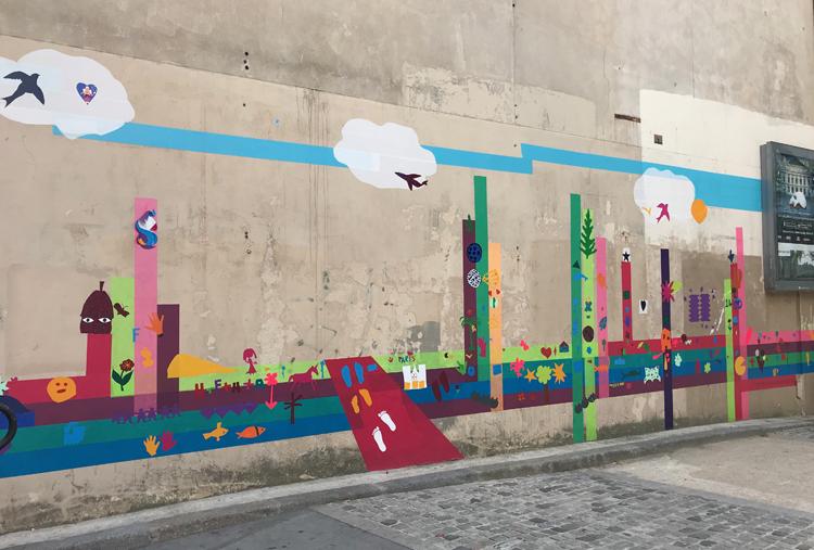 Murs éphémères #3 / Ephemeral walls 10