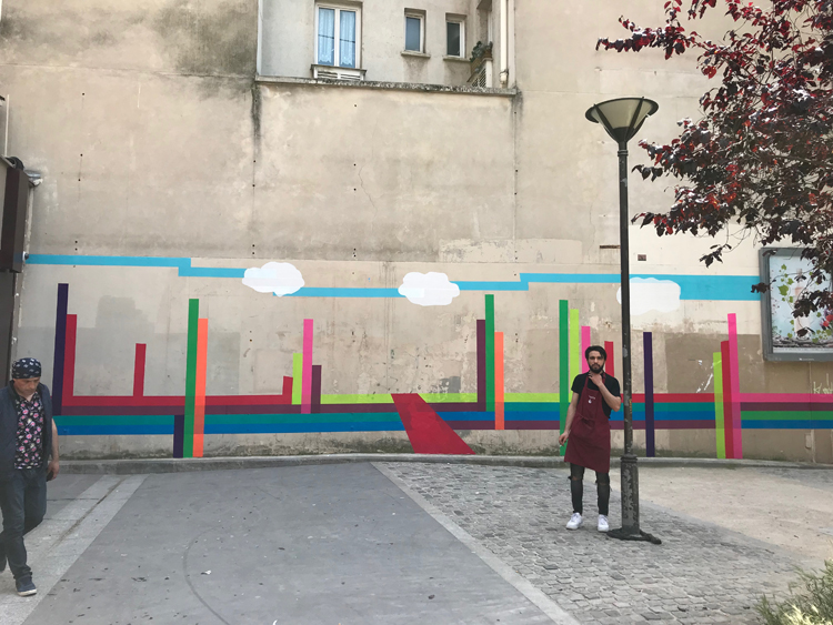 Murs éphémères #3 / Ephemeral walls 2
