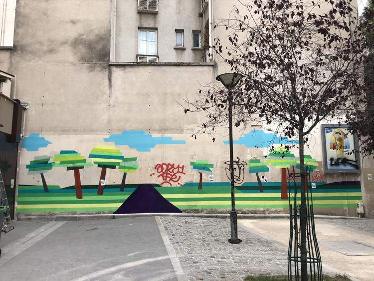 Murs éphémères #4 / Ephemeral walls 7